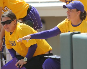 Beth Torina (Photo by LSUSports.net)