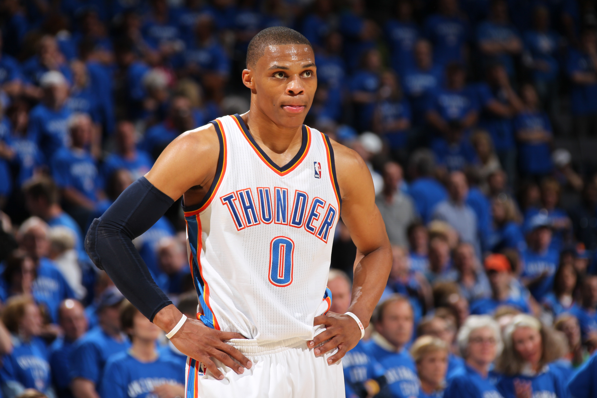 Russell Westbrook discusses fashion not Kevin Durant