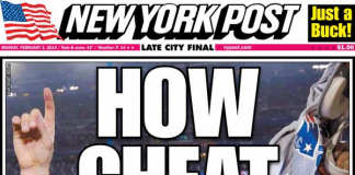New York Post Super Bowl