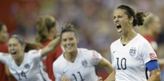 2015 World Cup Final Carli Lloyd