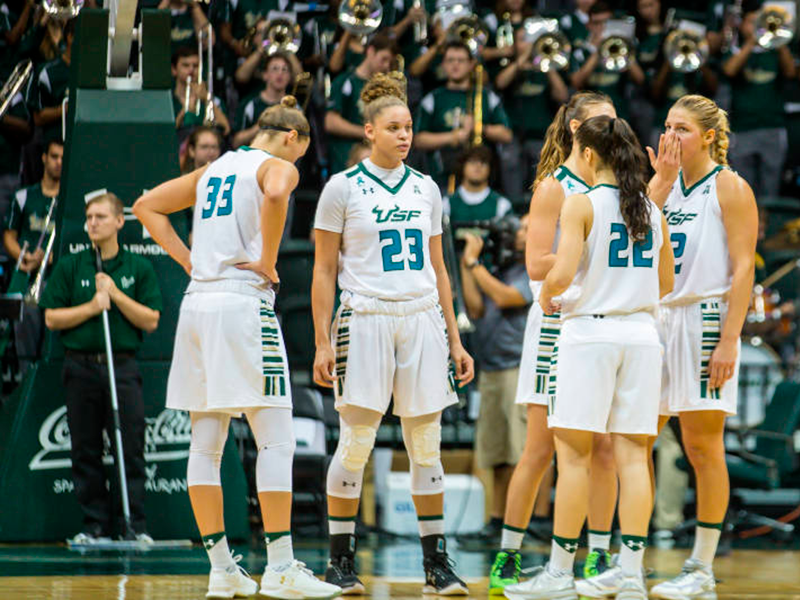 USF Women's Basketball Losing Momentum When They Need It Most