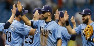 Tampa Bay Rays, Kevin Kiermaier, Opening Day