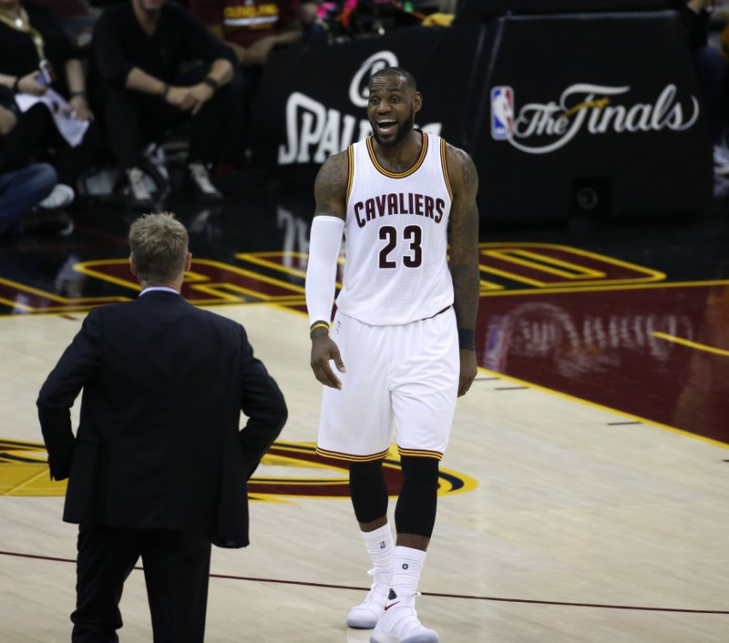 LeBron Not Faulting Warriors For Building Powerhouse Team
