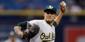 Tampa Bay Rays, Oakland Athletics, AP
