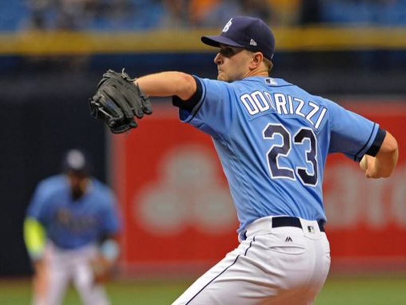factory authentic b4577 37be2 Will Jake Odorizzi Be Back With The Tampa Bay Rays In 2018