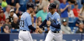 Tampa Bay Rays, Boston Red Sox