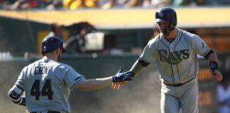Tampa Bay Rays, Oakland Athletics