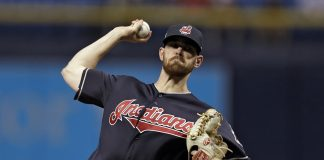 Cleveland Indians SP Shane Bieber