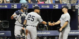Yankees Gardner Eliminate Rays