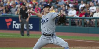 Rays Tyler Glasnow Opens The Three Game Series Against Rangers