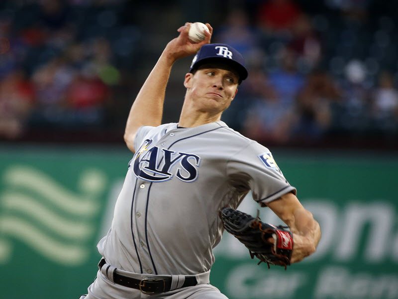 Rays Glasnow Scoreless Outing Vs Rangers