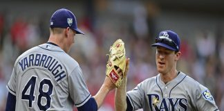 Rays Wendle Leads Victory Over Indians