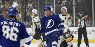 Tampa Bay Lightning Defeat Vegas Golden Knights