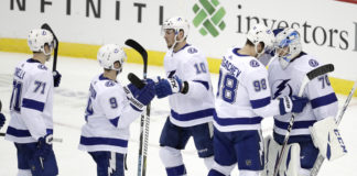 Lightning Defeat Devils