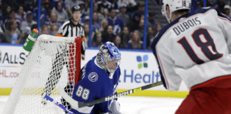 Tampa Bay Lightning Defeat Columbus Blue Jackets
