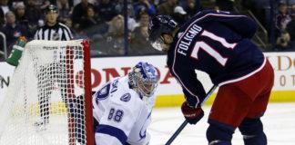 Tampa Bay Lightning Defeat Columbus Blue Jackets