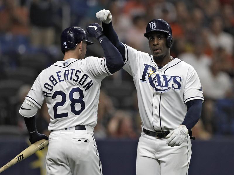 Diaz Homers Against Astros