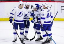 Tampa Bay Lightning Win 60th Game