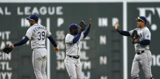 Tampa Bay Rays Defeat Boston Red Sox