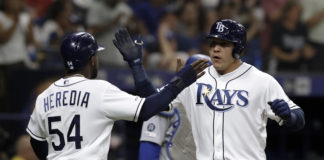Tampa Bay Rays Defeat Los Angeles Dodgers