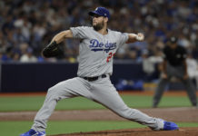 Kershaw Too Much For Rays' Bats