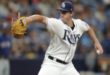 Rays McKay Makes Debut Versus Rangers