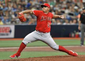 Tampa Bay Rays Fall To Los Angeles Angels