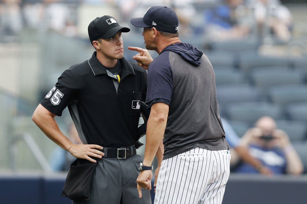 Yankees Sweep Doubleheader