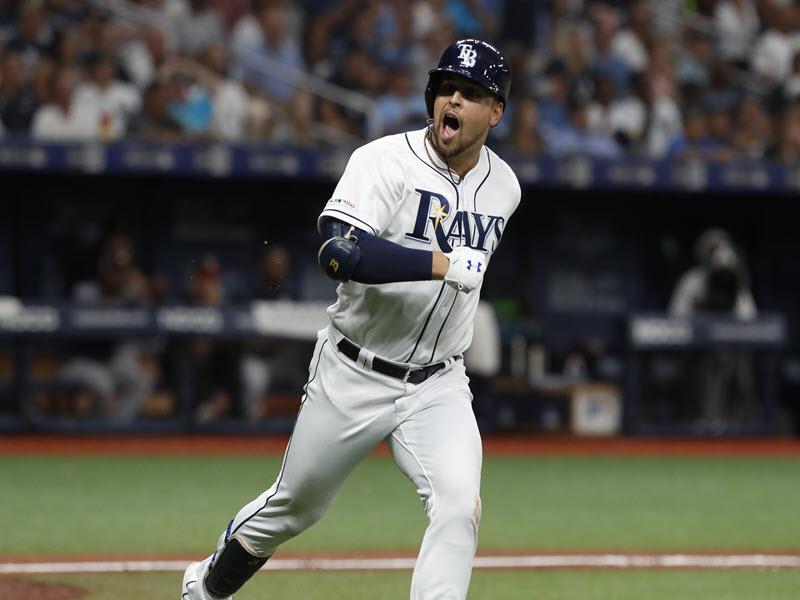 Rays Lowe Homers Off Yankees Sabathia