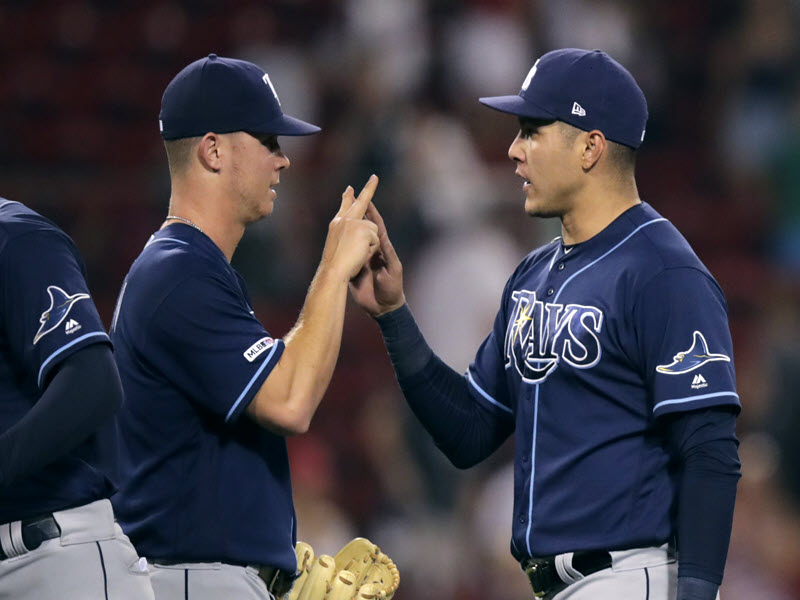 Rays Defeat Red Sox