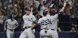 Yankees Defeat Rays On Fourth Of July