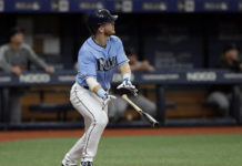 Rays Brosseau Homers In Win Over Marlins