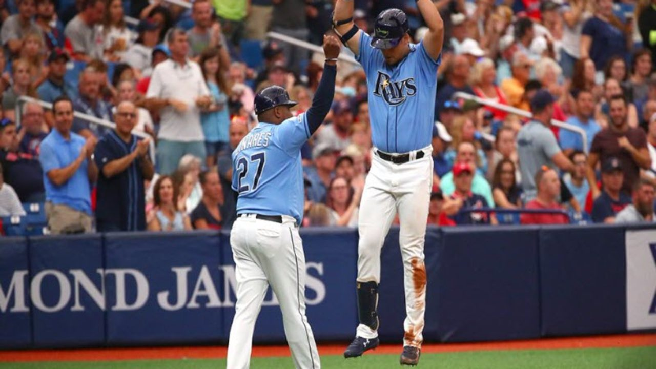Rays Sweep Indians Move Into Top Wild Card Spot