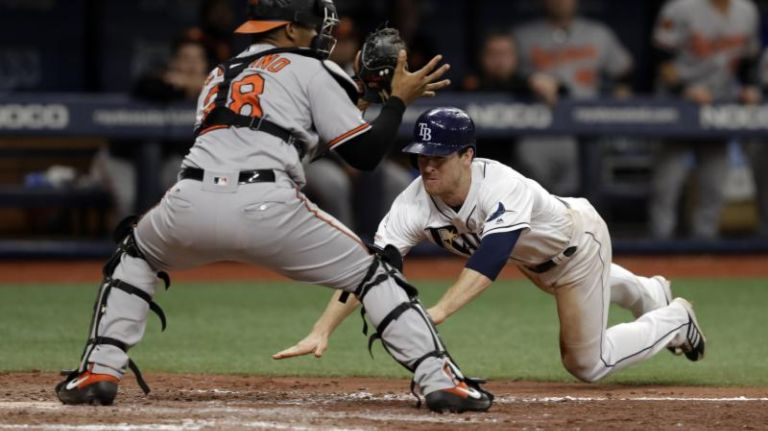 Wendle Scores Winning Run, Rays Defeat Orioles