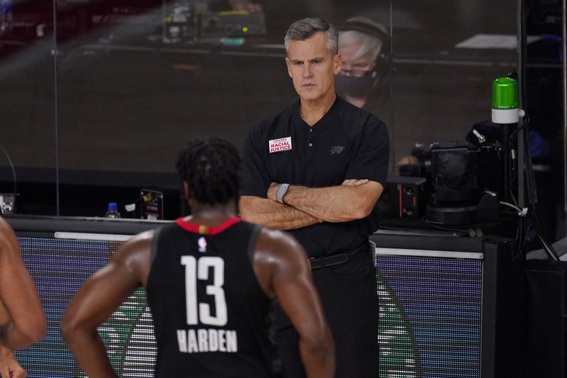 Coach Billy Donovan, Thunder mutually agree to part ways after five seasons