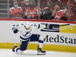 Lightning Captain Steven Stamkos scores overtime winning goal as Tampa Bay defeats the Washington Capitals 2-1